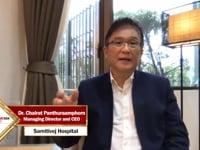 Healthcare Asia Awards 2020 - Chairat Panthuraamphorn of Samitivej Hospital