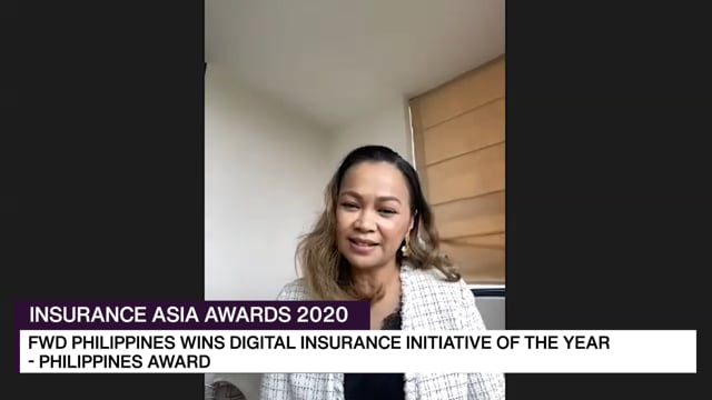 Insurance Asia Awards 2020 Winner: FWD Life Philippines