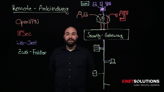 Netzwerkanbindung von Homeoffice, Außenstellen und Mobilen Usern