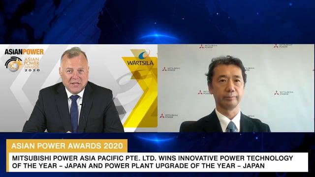 Asian Power Awards 2020 Winner: Mitsubishi Power, Ltd.