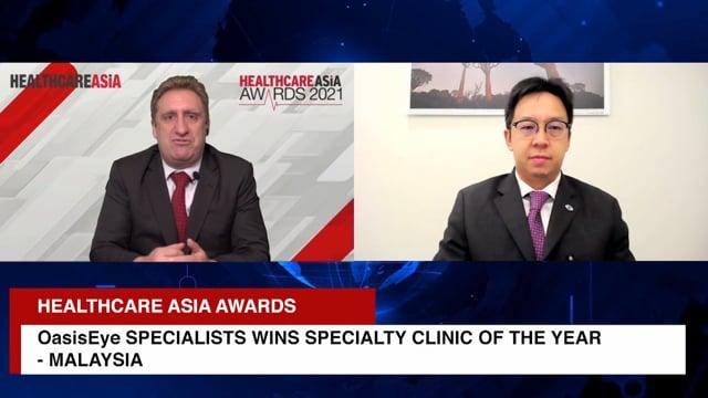Healthcare Asia Awards 2021 Winner: OasisEye Specialists