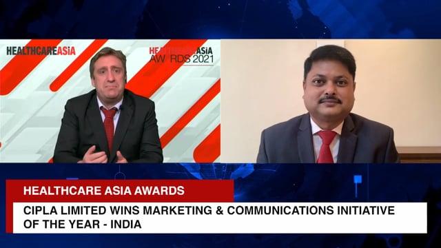 Healthcare Asia Pharma Awards 2021 Winner: Cipla Limited