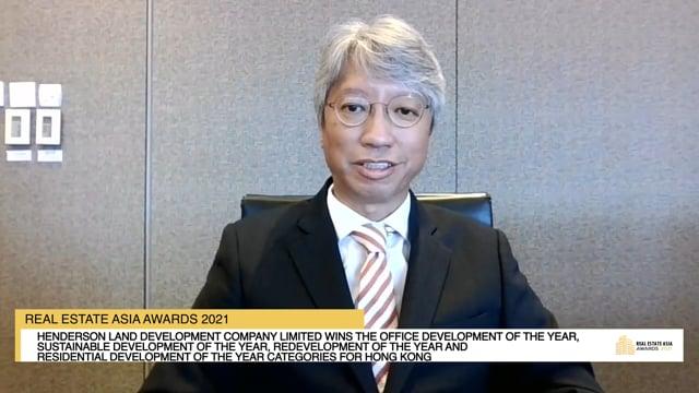 Real Estate Asia Awards 2021 Winner: Henderson Land Development Company Limited