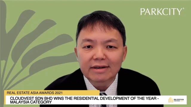 Real Estate Asia Awards 2021 Winner: Park Regent Residences - Cloudvest Sdn Bhd