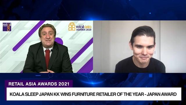 Retail Asia Awards 2021 Winner: Koala Sleep Japan KK