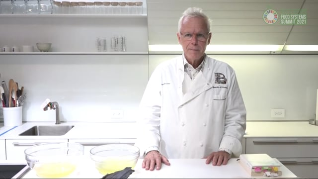 Learning from Japan; Healthy Diet (David Bouley, U.S.A, Japanese Cuisine Goodwill Ambassador)