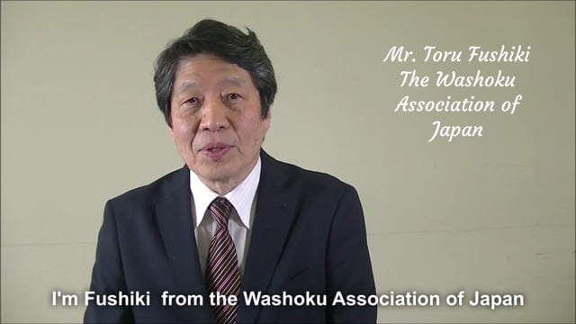 WASHOKU is one of the most ideal and leading diets for achieving SDGs  (Toru Fushiki, The Washoku Association of Japan)
