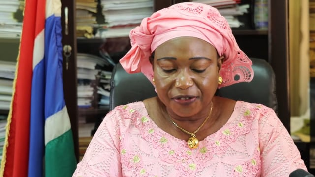 Hon. Amie Fabureh, Minister of Agriculture, The Republic of The Gambia