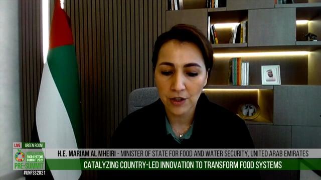 Mariam Al Mheiri, Green Room