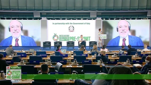 Gabriele Riccardi, Plenary Hall