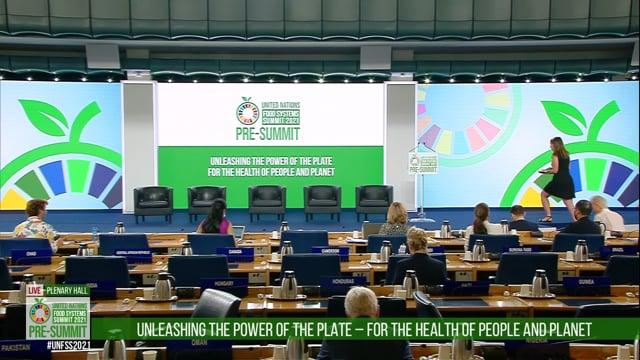 Lana Weidgenant, Plenary Hall