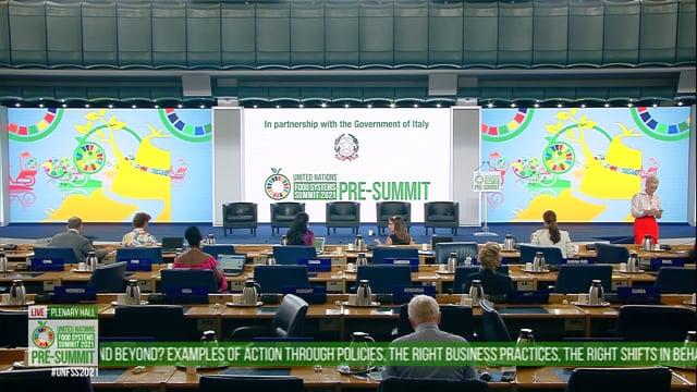Henrietta Fore & RVM Video, Plenary Hall