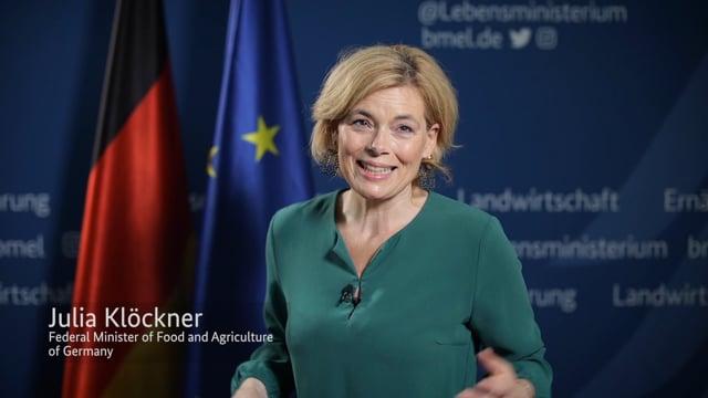Julia Klockner, Plenary Hall