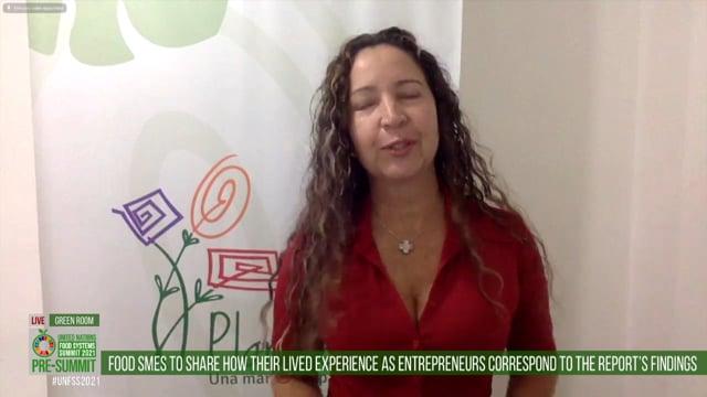 Claudia Barona, Green Room
