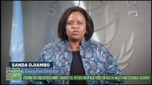 Sanda Ojiambo, Green Room