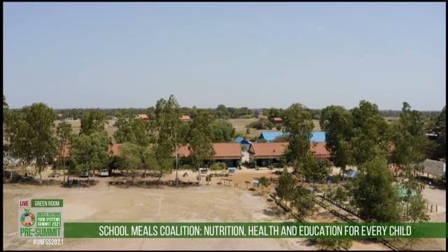School Meals Coalition Video, Green Room