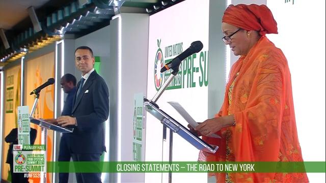 Amina J Mohammed, Plenary Hall