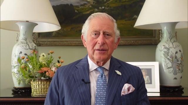 HRH Prince Charles of Wales, Plenary Hall