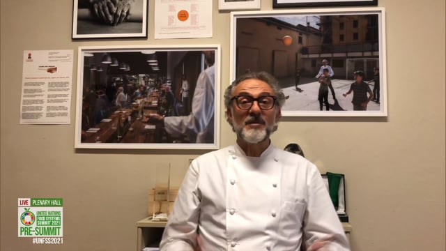 Massimo Bottura, Plenary Hall