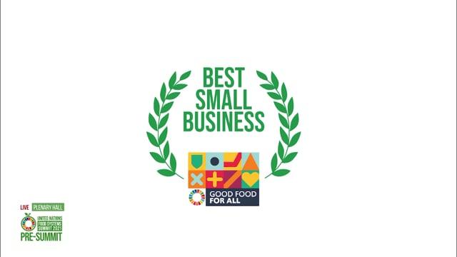 Best Small Business, Plenary Hall