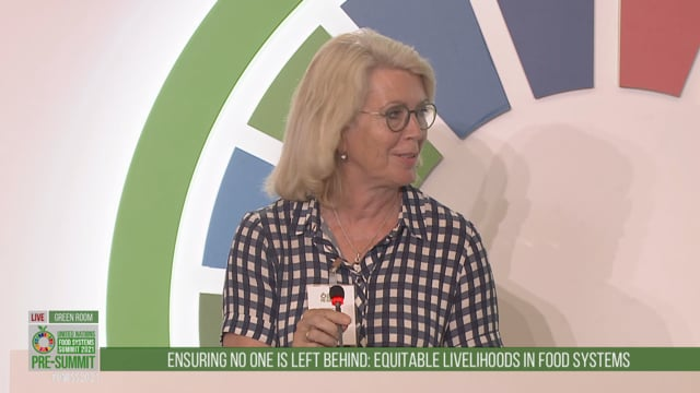 Marie Haga, Green Room