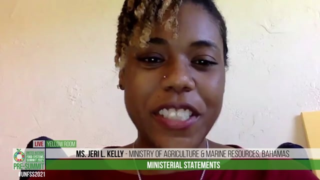 Ms. Jeri L. Kelly, Ministry of Agriculture & Marine Resources, Bahamas