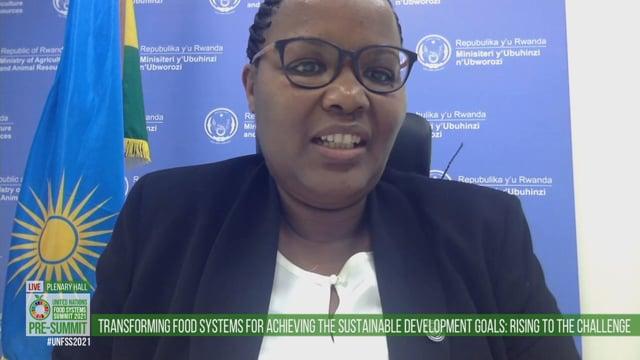 Geraldine Mukeshimana, Plenary Hall