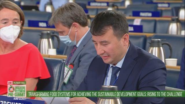 Jamshid Khojayev, Plenary Hall