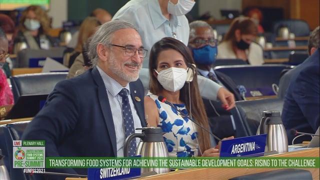 Luis Basterra, Plenary Hall