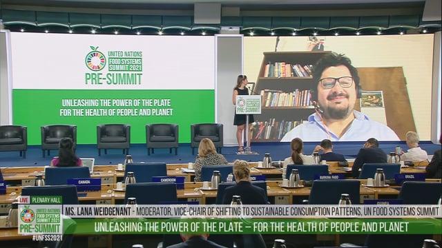 Mario Herrero Acosta, Plenary Hall