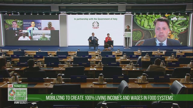 Video Fao E Unicef, Green Room