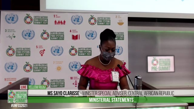 Ms SAYO Clarisse, Minister Special Adviser, Central African Republic