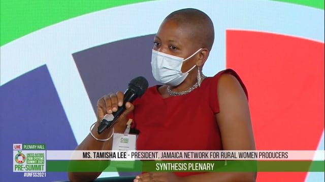 Tamisha Lee 2, Plenary Hall