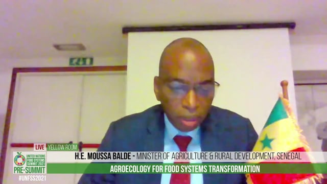 Agroecology for Food Systems Transformation