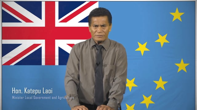 Hon. Katepu Laoi, Minister Local Government and Agriculture, Tuvalu