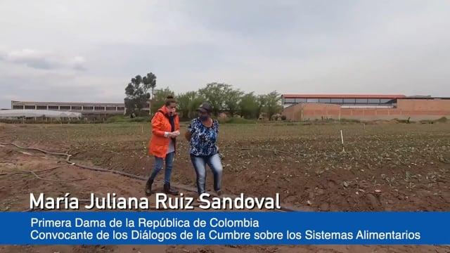 María Juliana Ruiz Sandoval, Primera Dama de la República de Colombia, Convocante de los Diálogos de la Cumbre sobre los Sistemas Alimentarios