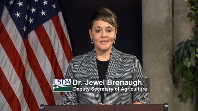Dr. Jewel Bronaugh, Deputy Secretary of Agriculture, United States Department of Agriculture