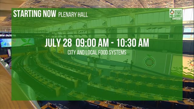 City and Local Food Systems