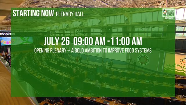 A Bold Ambition to Improve Food Systems