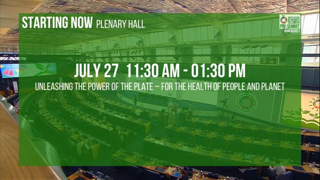 Unleashing the Power of the Plate - for the Health of People and Planet