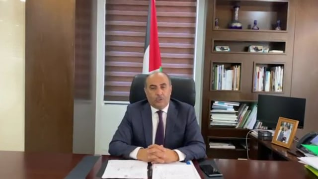 H.E. Mr. Riyad Attari, Minister of Agriculture of the State of Palestine