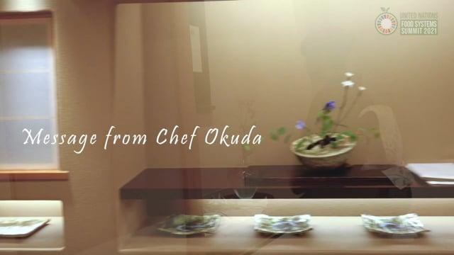 WASHOKU; Respect for Nature (Toru Okuda, France, Japanese Cuisine Goodwill Ambassador)