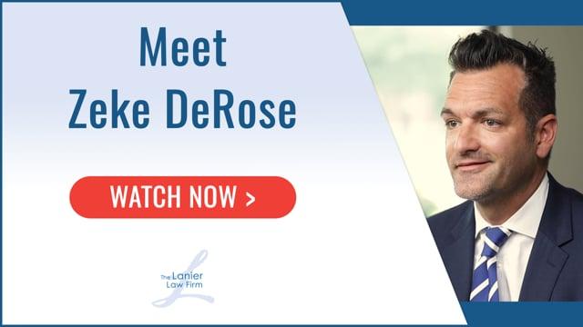 Zeke DeRose - Business Litigation