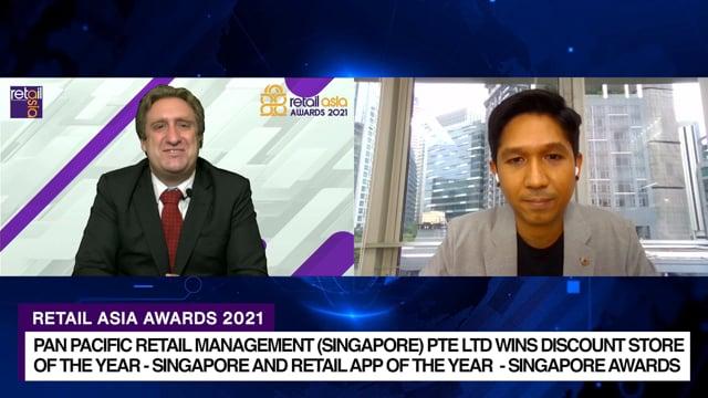 Retail Asia Awards 2021 Winner: Pan Pacific Retail Management (Singapore) Pte Ltd