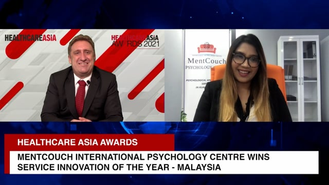 Healthcare Asia Awards 2021 Winner: Mentcouch International Psychology Centre