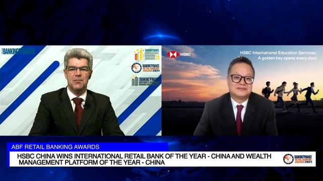 ABF Retail Banking Awards 2021 Winner: HSBC China