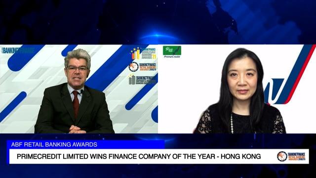ABF Retail Banking Awards 2021 Winner: PrimeCredit Limited