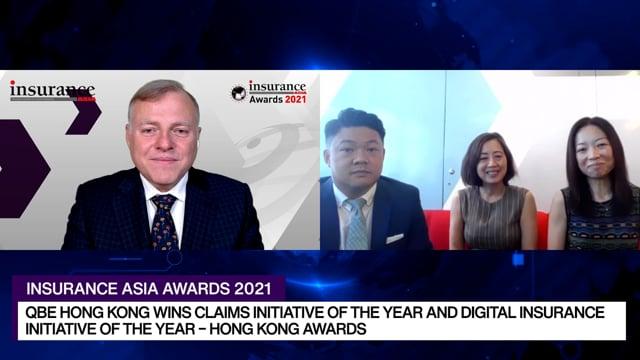 Insurance Asia Awards 2021 Winner: QBE Hong Kong