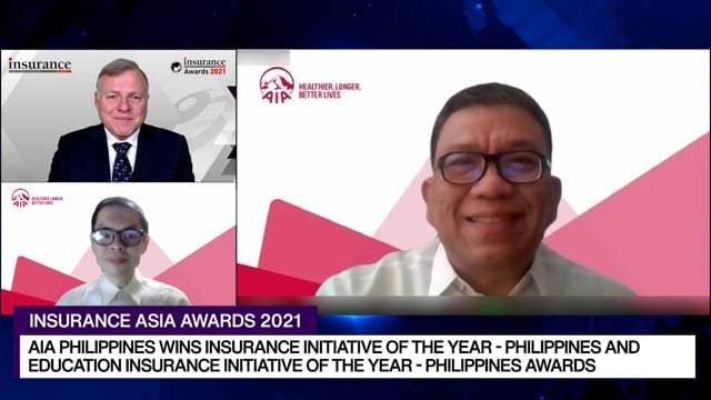Insurance Asia Awards 2021 Winner: AIA Philippines Life and General Insurance Company, Inc.