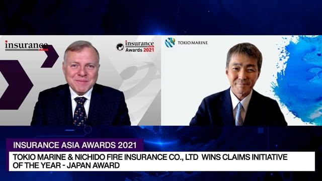 Insurance Asia Awards 2021 Winner: Tokio Marine & Nichido Fire Insurance Co., Ltd